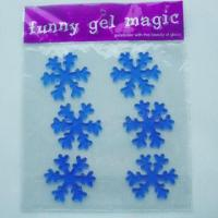 Buy cheap Christmas 3D gel stickers, eco-friendly and non-toxic, no adhesive, can apply to window product