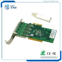Buy cheap F904E 1Gb Gigabit 4-port  PCIe Open SFP Intel I350 Network Adapter Card for Servers and Switches from wholesalers