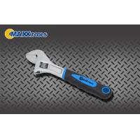"Buy cheap 6"" Adjustable Spanner Wrench With Drop Forged Steel Chrome Plated Soft Grip Handle from wholesalers"