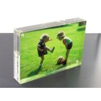 Buy cheap SGS Clear Custom Acrylic Products Digital Photo Frame To Display from wholesalers