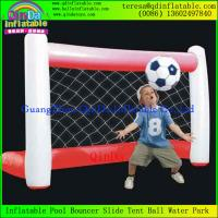Buy cheap High Quality For Sport Games Sports Flied Inflatable Football Gate Soccer Gates from wholesalers