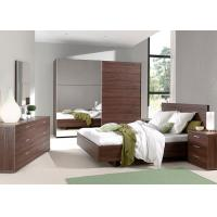 American Style Melamine Bedroom Furniture With New Model King Size Bed