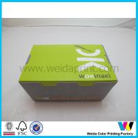 Buy cheap Green Paper Take Away Box For Popcorn Fried Chicken  CMYK Colorful from wholesalers