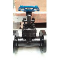 Buy cheap Forge steel flange welded rising stem gate valve with handwheel from wholesalers