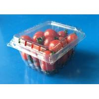 Buy cheap Disposable plastic fruit container Tomotos Grape Blueberry Strawberry packaging box PET food grade packaing FDA EU product