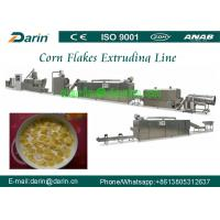 Buy cheap Breakfast Cereal and Corn Flakes Production line / puff snack Extruder machine from wholesalers