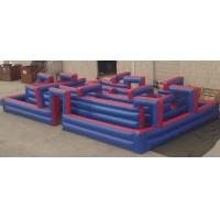 Buy cheap 0.8 PVC Family Marketing Custom Inflatable Products Inflatable Arena 16m x 6m from wholesalers