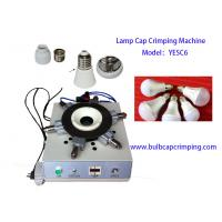 Buy cheap E40 E14 Bulb Cap Crimping Punching Machine With 4 6 8 10PIN Needle from wholesalers