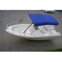 Buy cheap Deep Sea Fishing Boats Move Smoothly , 5m Long 4 Man Pontoon Boat For Fishing Fields from wholesalers