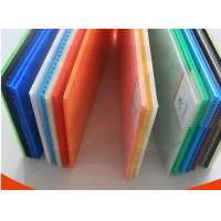 Buy cheap Black / Transparent / Green Rigid Strong Polypropylene PP Flute Board Thickness 2mm-7mm from wholesalers