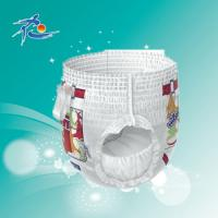 Buy cheap Disposable Baby Pull up Diaper with Quick Absorbtion product