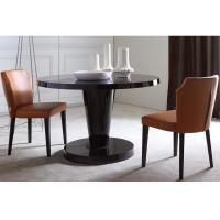 Buy cheap Hotel Solid Ash Wood Restaurant Furniture Chairs With Leather Seat Modern Design from wholesalers