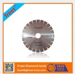 China Freet Sandstone saw blade Diamond Silent sandstone saw blade on sale