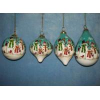 Buy cheap Craft; gift; glass craft; Christmas glass ball; Inside painting ball CJ-GB0801 from wholesalers