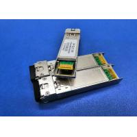 Buy cheap 10GBASE SFP+ Modules , 10gb Ethernet SFP Module TX1330DFB Laser RX1270nm BIDI LC 60KM from wholesalers