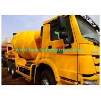 Buy cheap 9m3 concrete mobile mixer chassis Diesel 6x4 Left Hand Driving from wholesalers