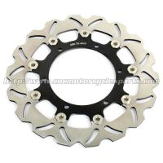 Buy cheap XJR 1300 Motorcycle Brake Disc Disk Brakes Yamaha XVS 1300 CNC Aluminium Alloy from wholesalers