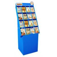 Buy cheap Store Books Cardboard Floor Displays 4C CMYK Full Color Light Weight from wholesalers