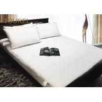 Buy cheap Linen Pro Flat Quilted Protect A Bed Mattress Protector For 5 Star Hotel from wholesalers