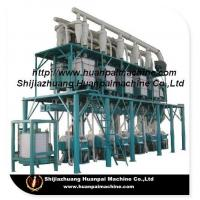 Buy cheap high quality maize grain flour processing machinery,flour milling plant, flour processing line from wholesalers