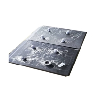 Buy cheap Fixed Plant Rock Box 148*300*50mm White Iron Liners For Chutes product