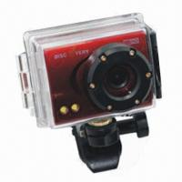 Buy cheap DV80 5MP Mini DVR Camera, 2-inch Screen, 30m Waterproof, Action Camcorder, Black product
