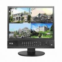 Buy cheap 17-inch 4CH H.264 LCD/DVR Combo with Mobile Remote View, Supports Email Alarm and Full D1 Real-time from wholesalers