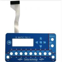 Buy cheap 20V Push Button Flexible Membrane Switch For Medical Equipment 0.55mm from wholesalers