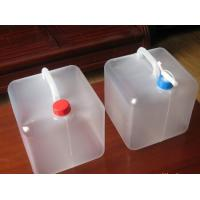 Buy cheap Household family use camping outdoor foldable water container, PE Collapsible plastic bags product