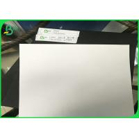 Buy cheap 1mm 1.5mm 2.0mm 2.5mm 3.0mm One Face Laminated Black Cardboard With Grey Back from wholesalers