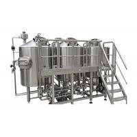 Buy cheap Fabrication SS316 Home Brew Kit 1800L Output Beer Brewing Vessel CIP Cleaning System from wholesalers