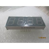 Buy cheap 4 Digit 7 Segment LED Displays Gray Surface 6 Pins 0.56'' 14.2mm DIP Type 2.2V from wholesalers
