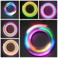 Buy cheap Full Color Flexible Neon Rope Light , Flexible Led Strip Lighting Waterproof from wholesalers