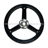 Buy cheap Front Custom Motorcycle Wheels For Suzuki Gsxr 650 750 3.5 * 17 Inch Size from wholesalers
