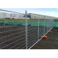 Buy cheap Heavy Duty Galvanized Temporary Fence Flat Surface For Construction Site from wholesalers