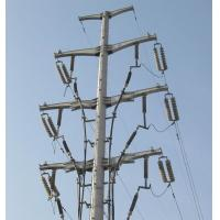 Buy cheap Transmission Line Steel Tubular Tower Clear Force Transmission Simple Structure from wholesalers