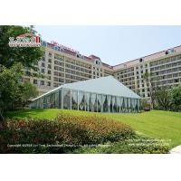 Buy cheap White PVC Roof Cover Outdoor Luxury Wedding Tents / Garden Party Marquee from wholesalers