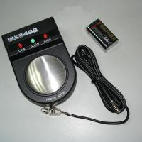 Buy cheap Black 498 static wrist strap tester, system tester static measurement from wholesalers
