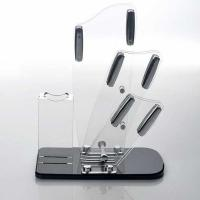 Buy cheap Transparent acrylic store displays / acrylic kitchen knife holder from wholesalers