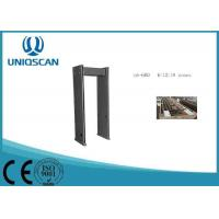 Buy cheap Black 18 Zones Airport Equipment Walk Through Metal Detector For Security Inspection from wholesalers