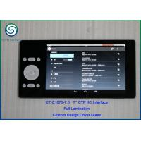 Buy cheap Custom Capacitive Cover Glass Touch Panel with IIC Interface 7H Hardness from wholesalers