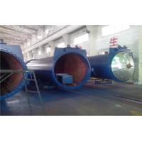 Buy cheap Safety Chemical Wood Autoclave Machine For Laminated Glass , High Pressure product