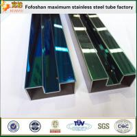 Quality 316 Colored Single Stainless Steel Slot Pipe/Tube for sale