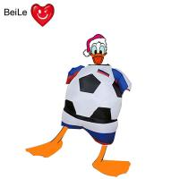Buy cheap World Cup 0.23mmPVC material inflatable football team suit costume from wholesalers