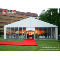 Buy cheap Transparent Sidewalls Wedding Canopy Tent , Light Fim Clear Party Tent from wholesalers