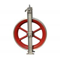 Buy cheap Custom Transmission Line Stringing Tools Aluminum Stringing Pulley Block from wholesalers