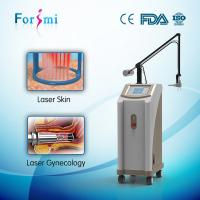 Buy cheap 1-100ms pulse width pigment removal / skin tightening fractional co2 laser machine from wholesalers