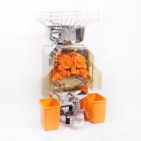 China 304 Staninless Steel Orange Juicer Extractor 370W Commercial For Coffee Bar on sale