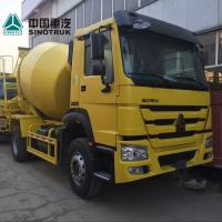 Buy cheap Yellow Concrete Construction Equipment 6x4 8m3 Concrete Mixer Truck With Pump Self - Loading from wholesalers