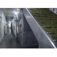 Buy cheap 16KW DW Conveyor Belt Drying Machine For Garlic / Giant Arum Dehydration from wholesalers